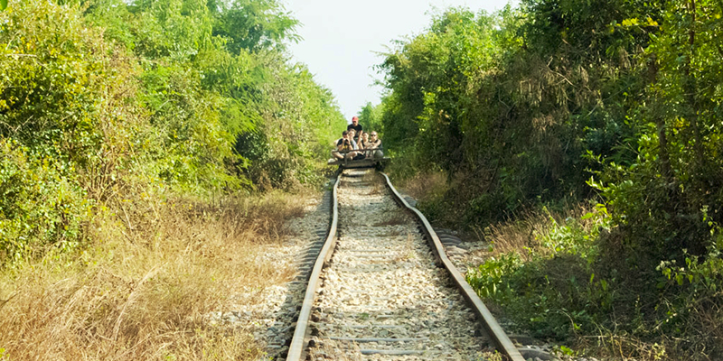 Rafting the Rails_Battambang