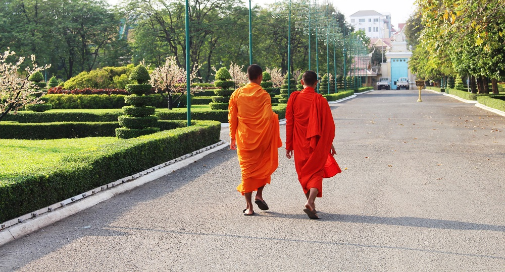 Young Monks_Phnom Penh