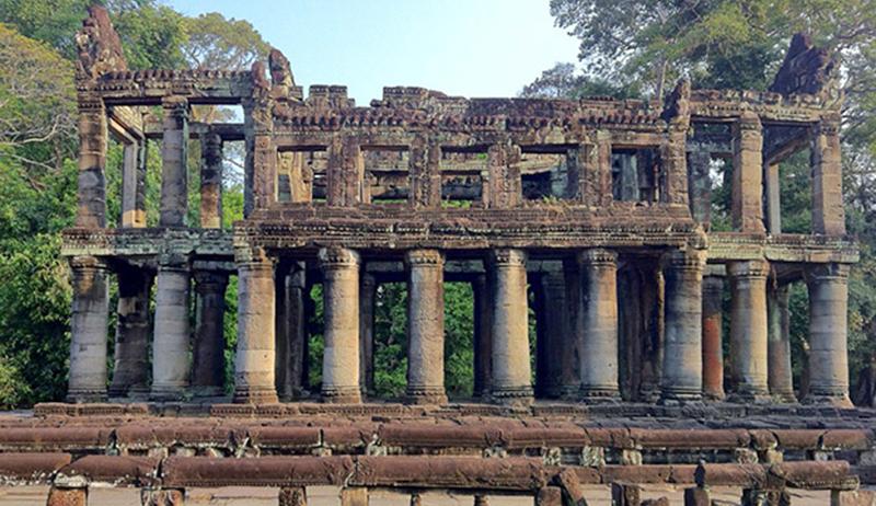 PreahKhan_Library